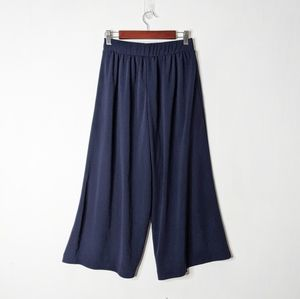 Uniqlo Cropped Wide Leg Culotte Pants